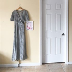Wishlist Long Maxi Wrap Dress
